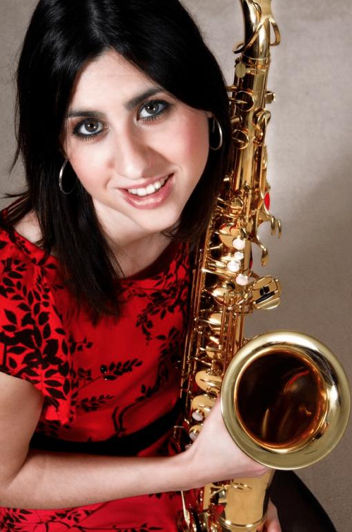 Saxophonist Sophia
