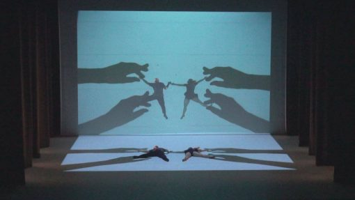 projection dancing