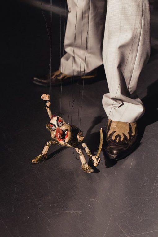 Wooden Puppet Show