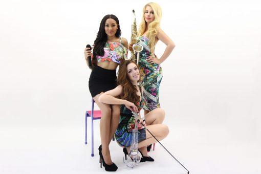 Female LED Musical Trio