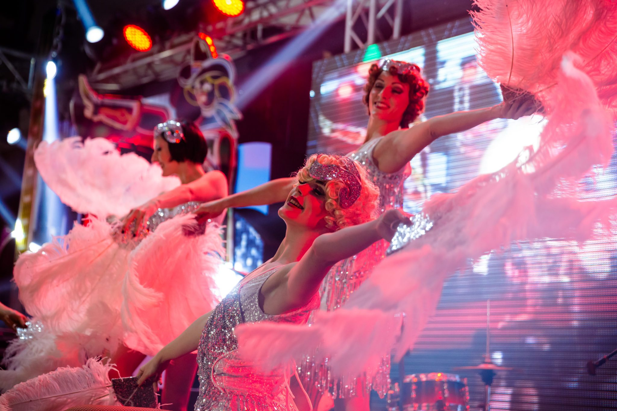 Showgirl Entertainments live in Egypt