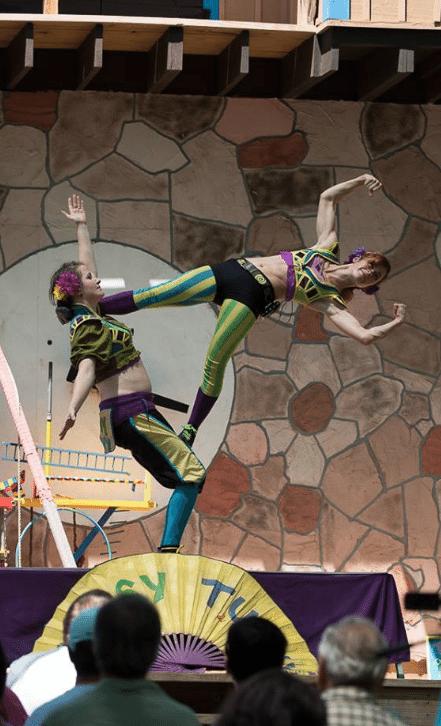 Female Circus Duo