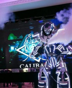nightclub robot