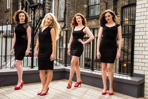 Femaile Classical Cross Over Quartet