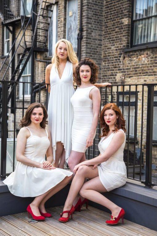 Female Classical Cross Over Quartet