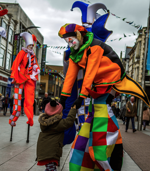 UK Stilt Walkers