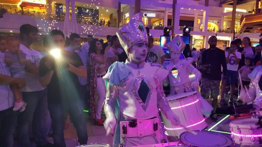 LED Drummers for Hire