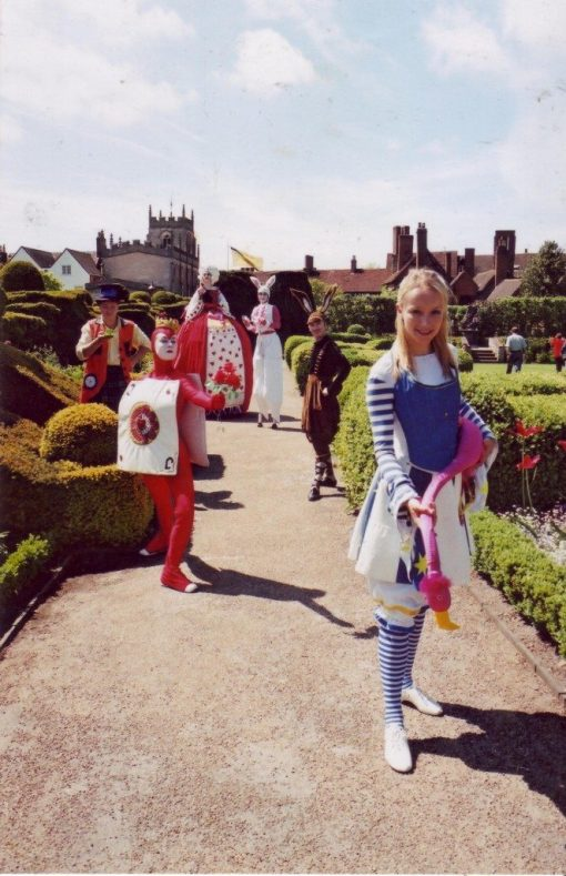 Interactive Alice characters