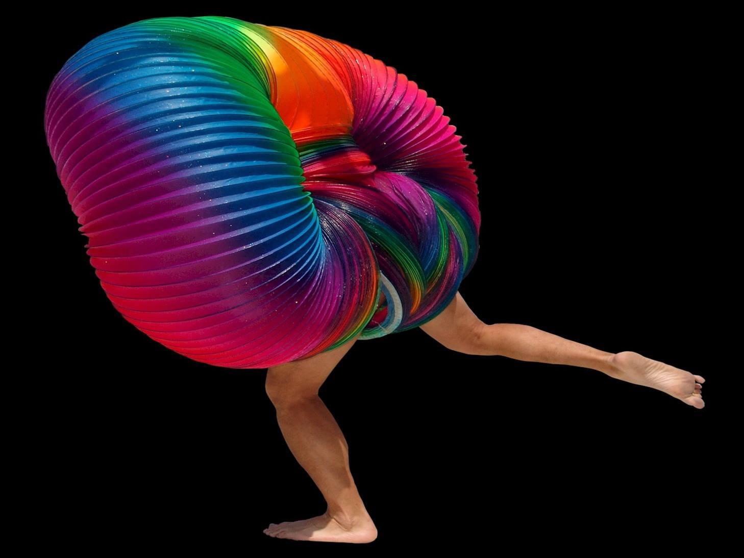 LED Slinky Show