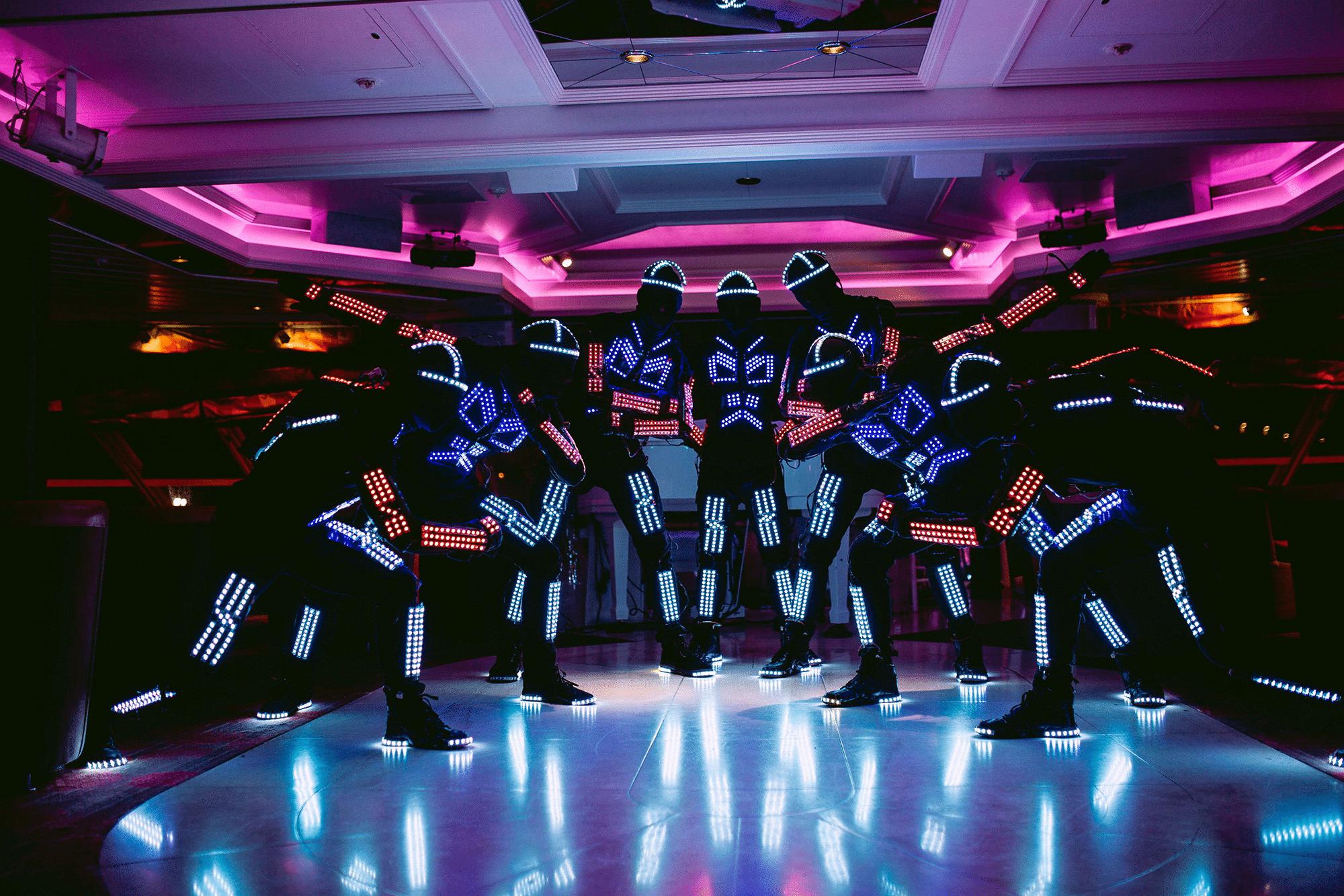 LED Tron Dancers