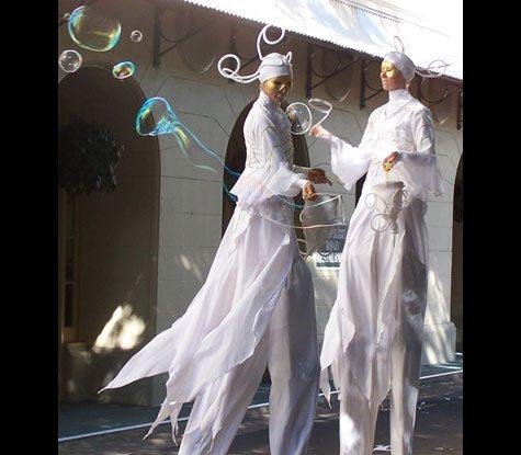 Bubble stilts