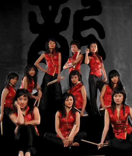 Chinese Female Drumming Group1