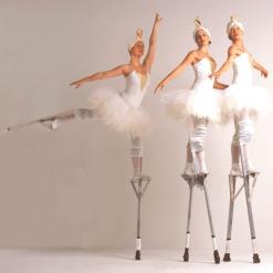 Stilt Ballet Dancers