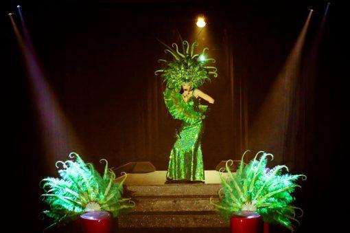 Burlesque artist Asia