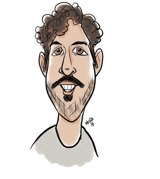 Digital Caricaturist Seattle