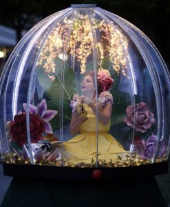 Enchanted Flower Globe