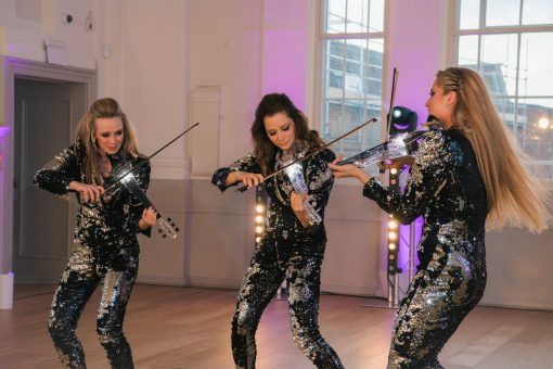 LED Pop Violin Trio