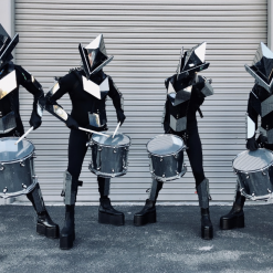 LED Mirror Drummers