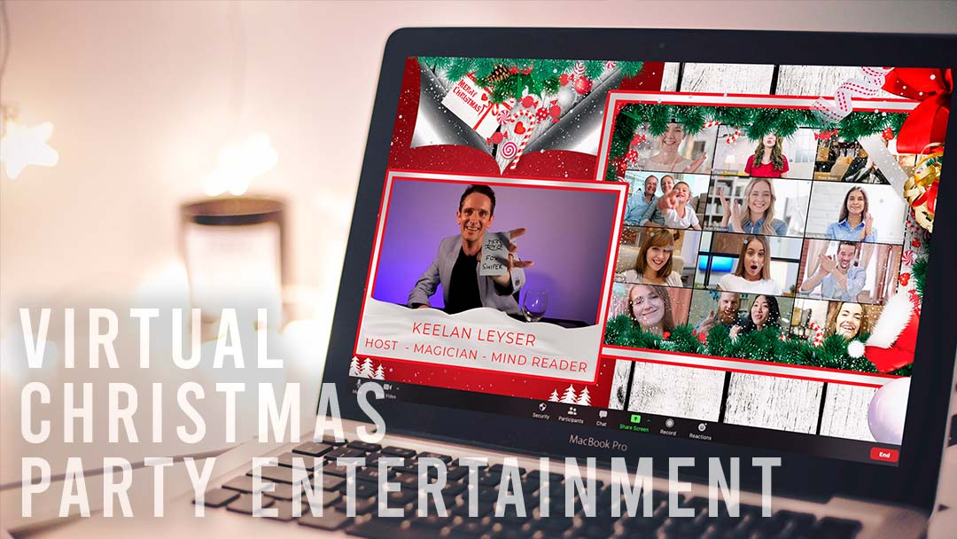 Virtual Christmas Party Entertainment