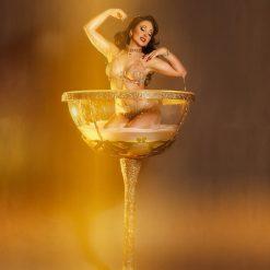 Giant Martini Glass Performer3